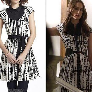 ASO PLL Anthropologie Harlequin Dress Size 12